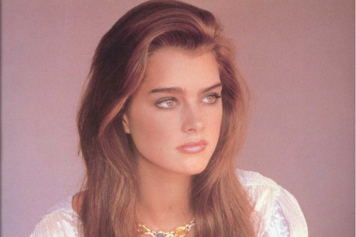 Brooke Shields Sizzling Eyes