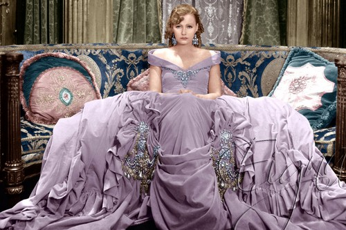 Greta Garbo Color