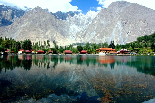Shangrila Lake Breathtaking View