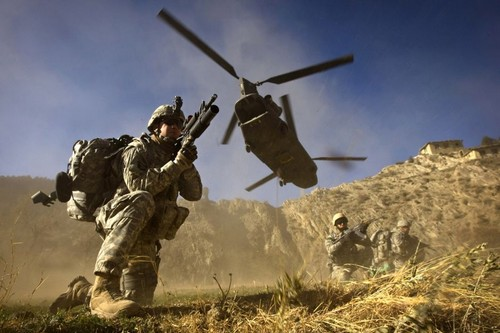 US army in Afghanistan