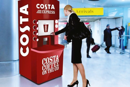 costa coffee express machin