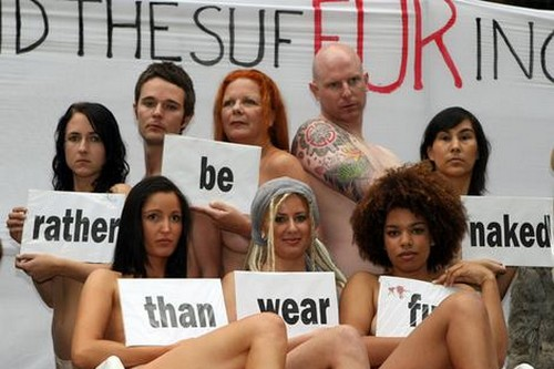 Going Naked Is Better Than Wearing Fur