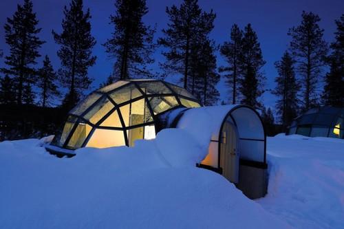 Kakslauttanen hotel in Lapland