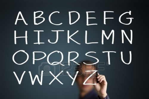 english language capital letter
