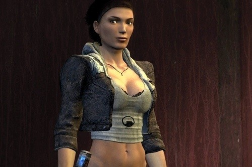 Alyx Vance female game characters