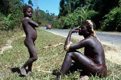 Andamanese people of India