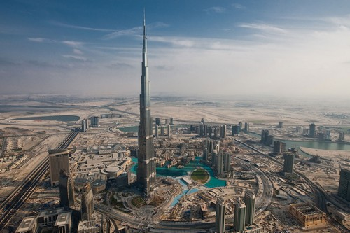 Burj Khalifa - Tallest Buildings in Asia