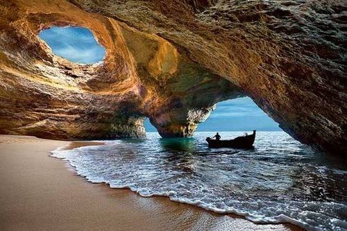 Natural Caves of Algarve
