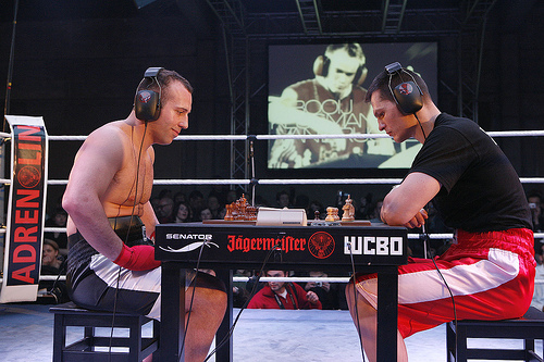 Chess Boxing - Bizarre Sports London