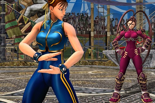 Hot female game characters Chun-Li