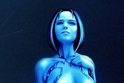 Cortana, female game characters
