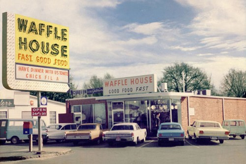 First Waffle House_1964 Fast Food Chains