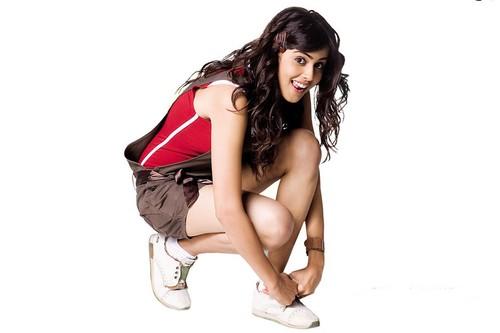 Genelia D'Souza Beauty Queen