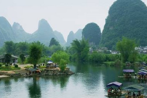 Guilin-Yangshuo in China