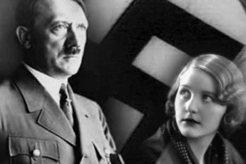 Hitler with Girlfriend