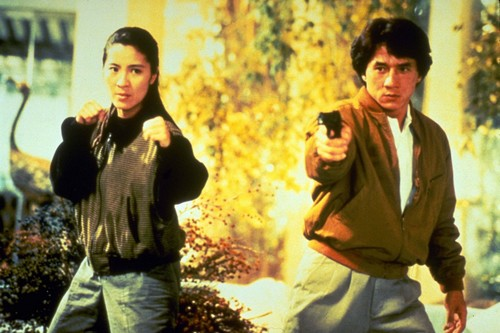 Jackie Chan in Police Story 3