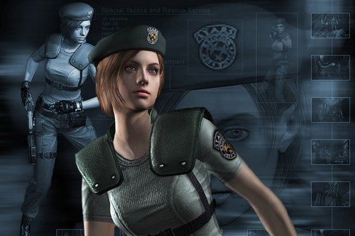 Jill Valentine female game characters
