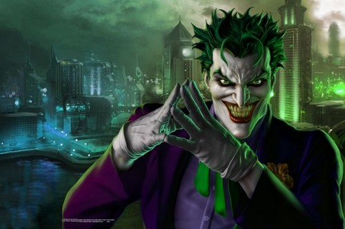 Joker Comic Book Supervillains