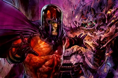Magneto Comic Book Supervillains