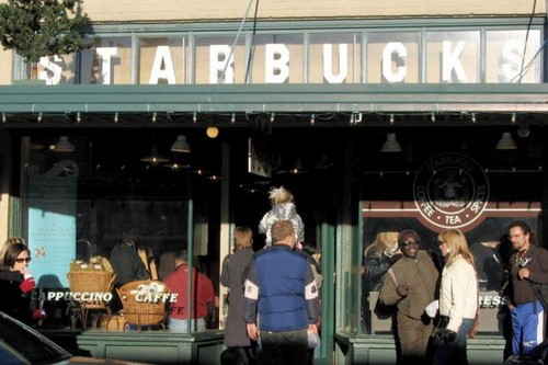 Original Starbucks Fast Food Chains