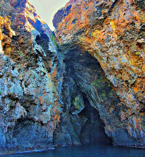 Painted Cave, California