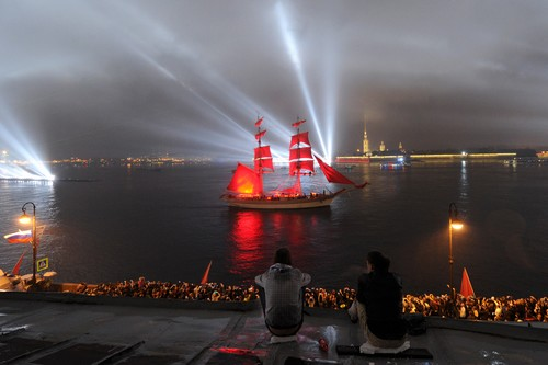 Scarlet Sails, White Nights Festival