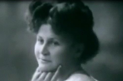 Stefanie Rabatsch in her youth