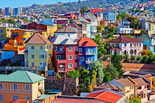 Most Colourful Cities