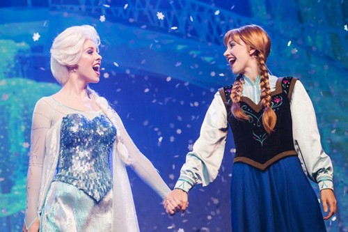 Beautiful Princesses-Disney Theme Park