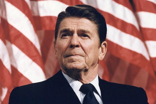 Influential Presidents Ronald Reagan
