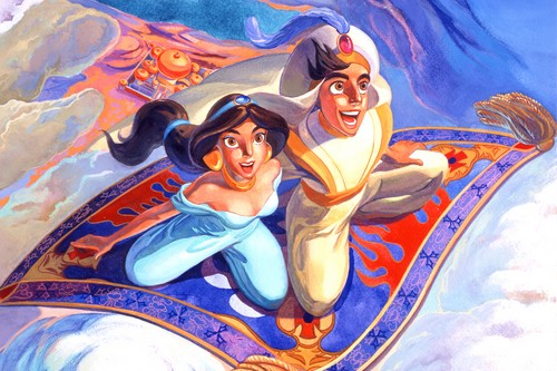 Aladdin and Jasmine disney couples