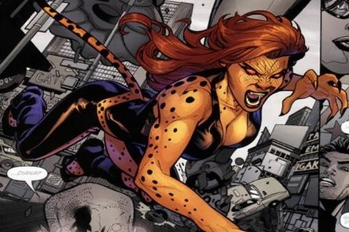 Cheetah Frightening SuperVillainesses