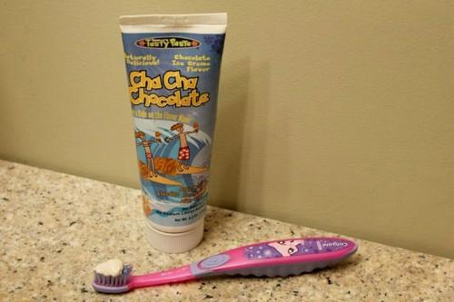 Ice Cream Flavor Toothpaste