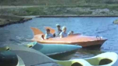 Rides in Disney Phantom Boats