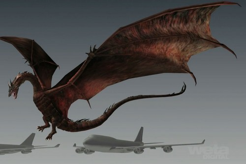 Smaug - Lord of the Rings