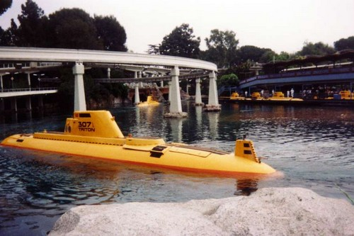Rides in Disney Submarine Voyage