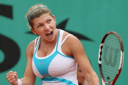 Tennis star with biggest brest