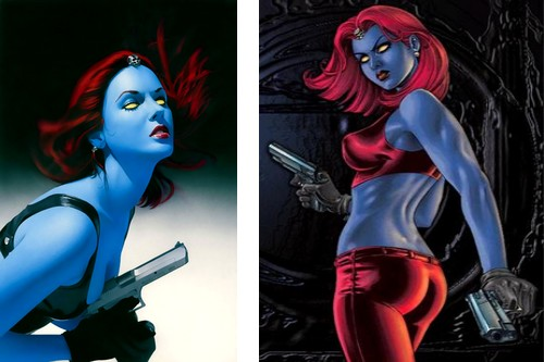 frightening SuperVillainesses Mystique