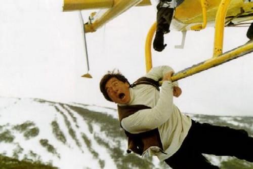 jackie chan crazy stunts