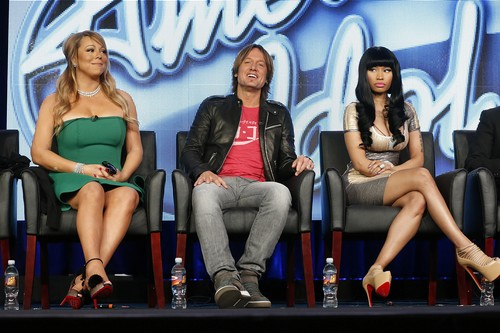 Mariah Carey, Keith Urban, Nicki Minaj