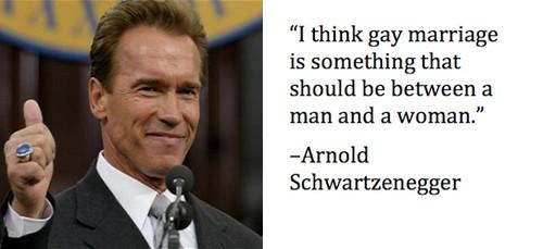 Arnold Schwarzenegger Dumb Statement