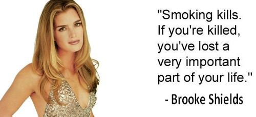 Brooke Shields-quotes dumb