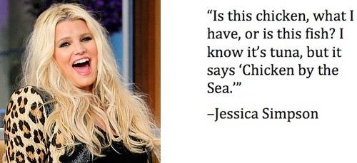Jessica Simpson Dumbest Celebrity Statements