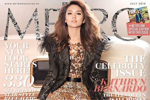 Kathryn Bernardo Filipina Female Stars