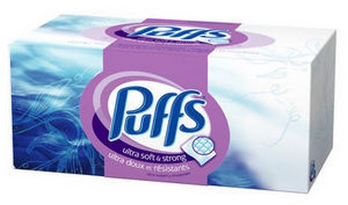 Puffs brand tissues