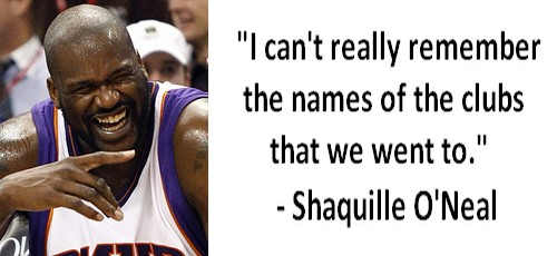 Shaquille O'Neal dumbest statements