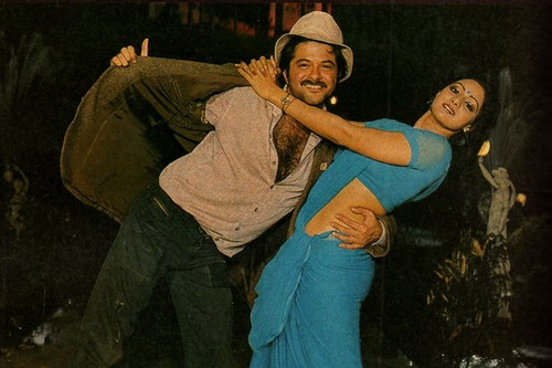 Anil Kapoor, Sridevi in Mr. India