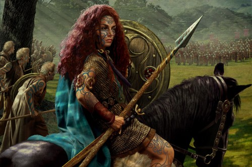 Boudica Surprising Queens