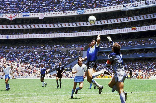 "Maradona's ""Hand of God"" Goal"