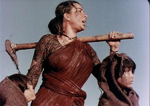 Nargis in Mother India - 1957